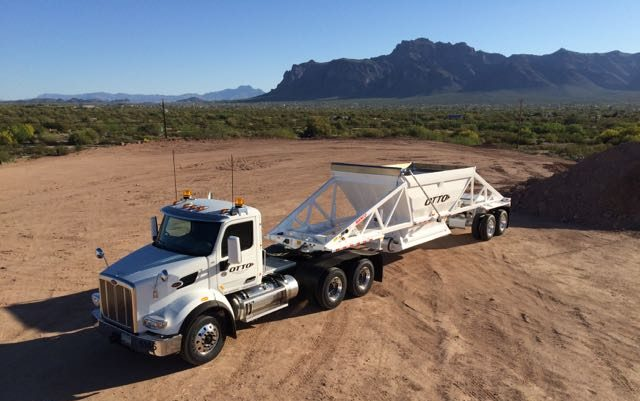 Otto Trucking Phoneix Arizona Trucking Hauling Dirt Everyday